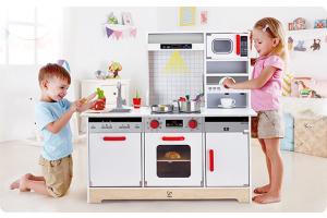 Maak de lekkerste creaties met je eigen speelkeuken