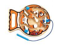 Magnetisch doolhof vis