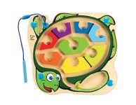 Magnetisch doolhof schildpad